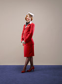 Portrait of Airline Hostess