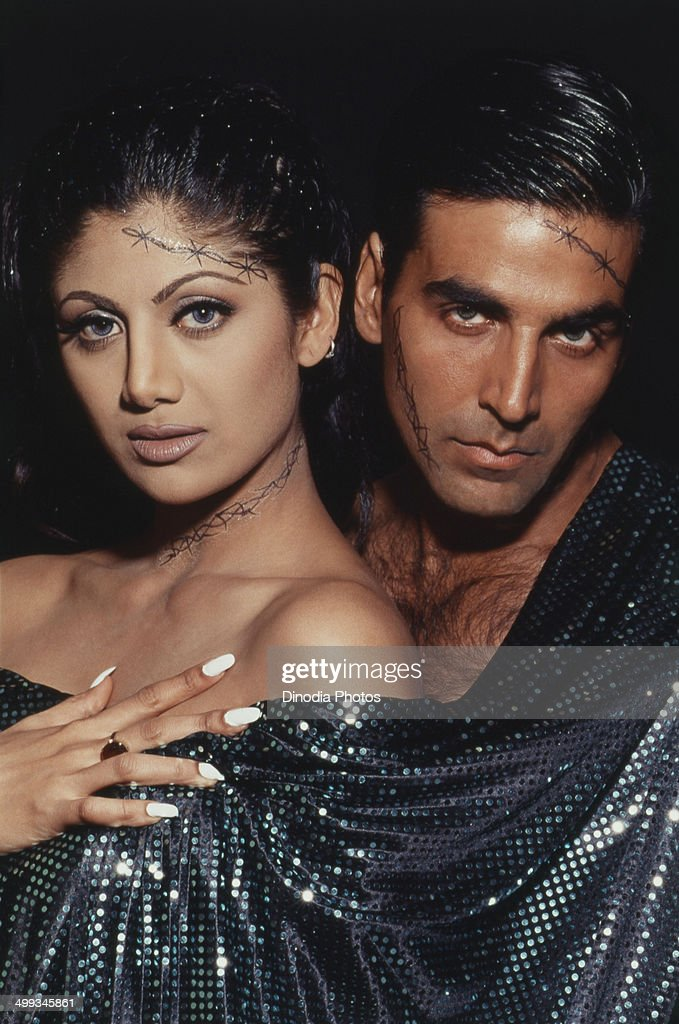 1999, Portrait of <a gi-track='captionPersonalityLinkClicked' href=/galleries/search?phrase=Akshay+Kumar&family=editorial&specificpeople=752716 ng-click='$event.stopPropagation()'>Akshay Kumar</a> and <a gi-track='captionPersonalityLinkClicked' href=/galleries/search?phrase=Shilpa+Shetty&family=editorial&specificpeople=565509 ng-click='$event.stopPropagation()'>Shilpa Shetty</a>.