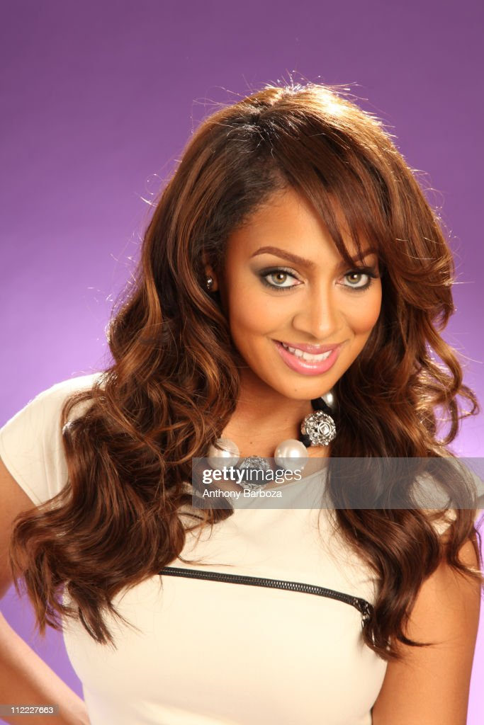 Portrait of Alani 'La La' Vasquez, television personality and wife of professional basketball player Carmelo Anthony, New York, August 2010.