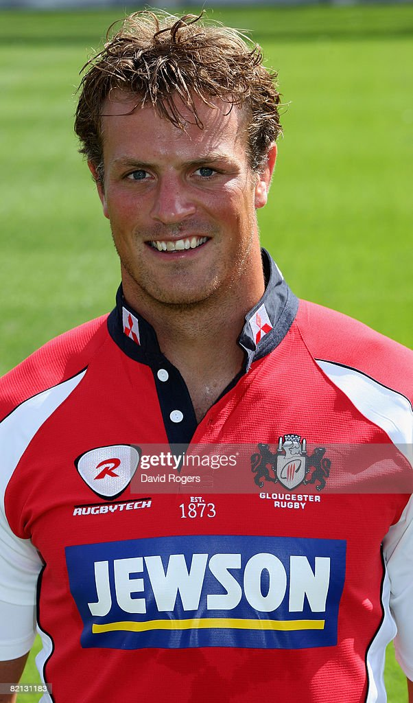 A portrait of Alex Brown of Gloucester Rugby at a photocall held at Kingsholm on July 30 2008 in Gloucester England