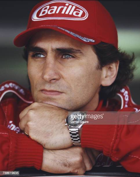 Portrait of Alex Zanardi of Italy driver of the Target Ganassi Racing Reynard 98i Honda during testing for the Championship Auto Racing Teams 1998...