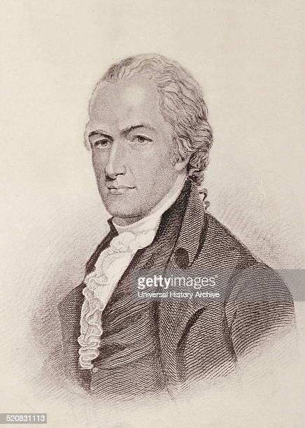 Portrait of Alexander Hamilton a founding father of the United States chief of staff to General George Washington one of the most influential...