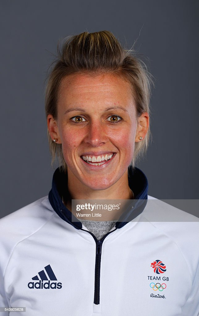 A portrait of Alexandra Danson a member of the Great Britain Olympic team during the Team GB Kitting Out ahead of Rio 2016 Olympic Games on June 30, 2016 in Birmingham, England.