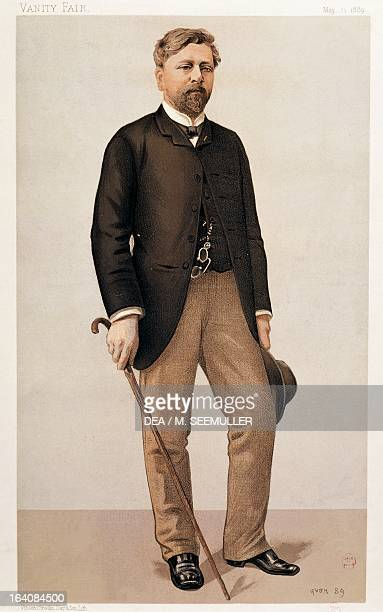Portrait of Alexandre Gustave Eiffel French engineer and entrepreneur