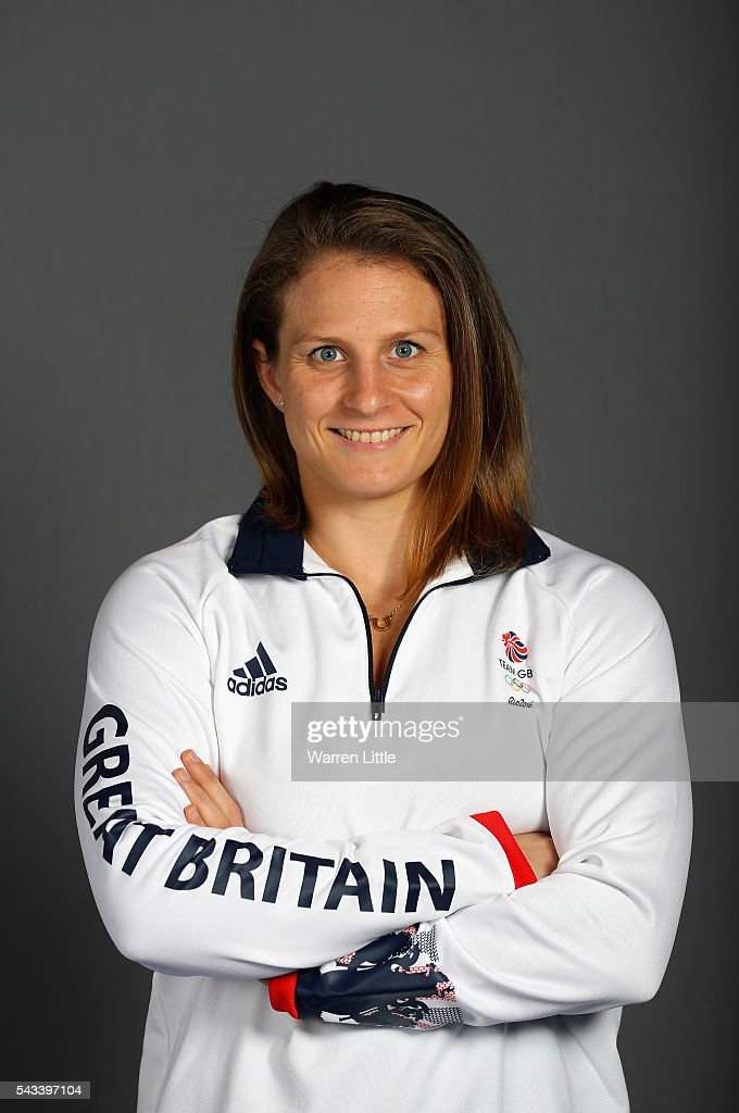 A portrait of Alice Schlesinger a member of the Great Britain Olympic team during the Team GB Kitting Out ahead of Rio 2016 Olympic Games on June 28, 2016 in Birmingham, England.