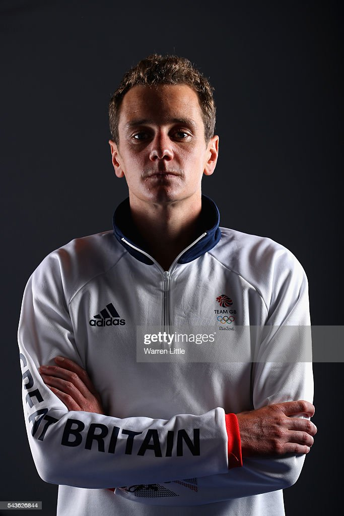 A portrait of Alistair Bronwlee a member of the Great Britain Olympic team during the Team GB Kitting Out ahead of Rio 2016 Olympic Games on June 29, 2016 in Birmingham, England.