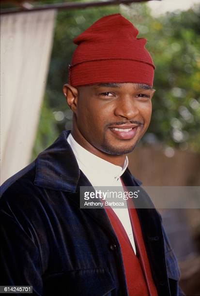 Portrait of American actor and comedian Damon Wayans Los Angeles California 1989