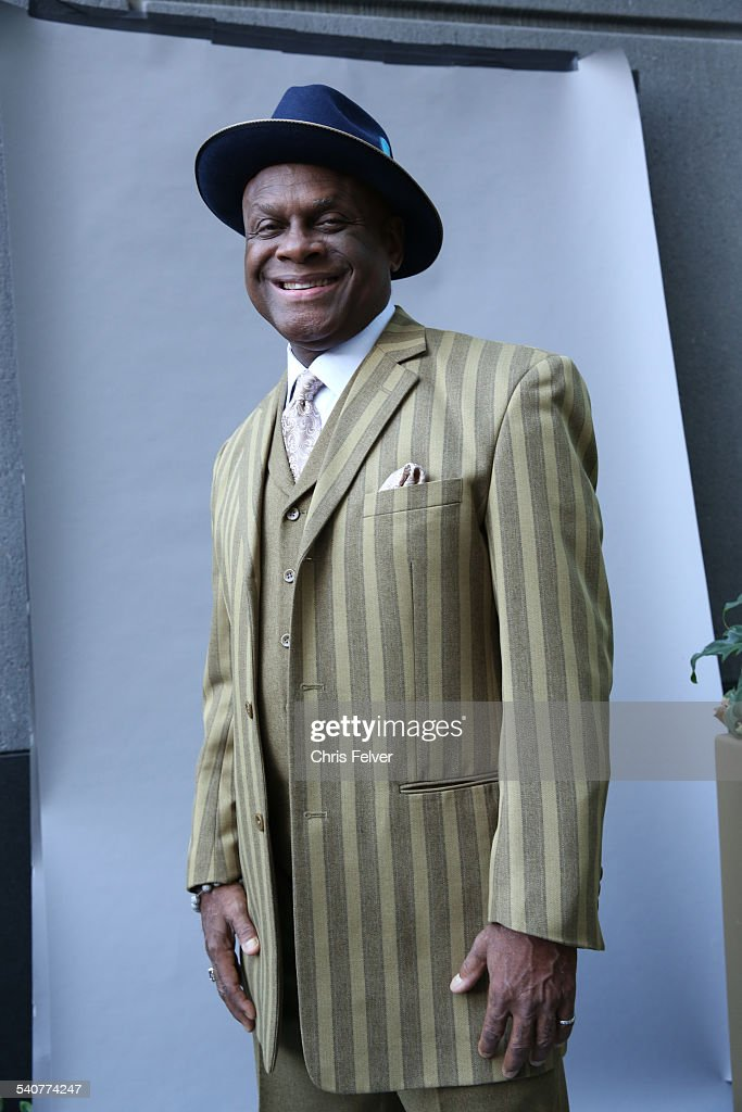 Portrait of American actor and comedian Michael Colyar at an event in honor of comedian Dick Gregory and his Hollywood Walk of Fame star Hollywood...
