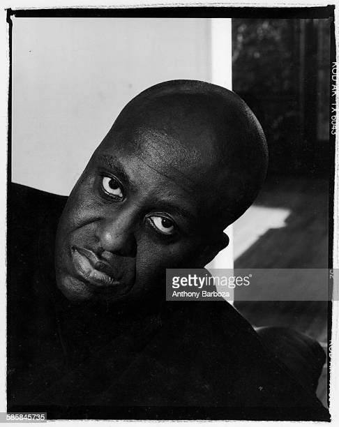 Portrait of American actor and director Bill Duke Los Angeles California 1990