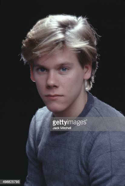 Portrait of American actor and musician Kevin Bacon New York 1980