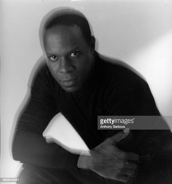 Portrait of American actor Avery Brooks New York 1984