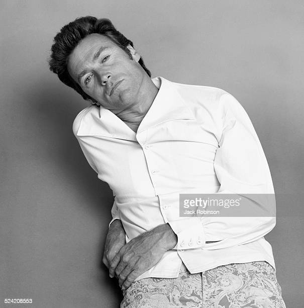 Portrait of American actor Clint Eastwood New York New York July 1969
