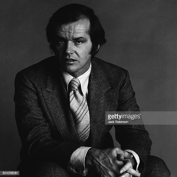 Portrait of American actor Jack Nicholson New York New York January 1970