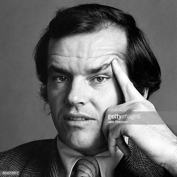 Portrait of American actor Jack Nicholson New York New York January 1970