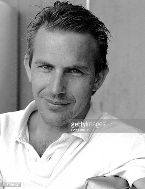 Portrait of American actor Kevin Costner during a photo shoot Los Angeles California August 7 1985