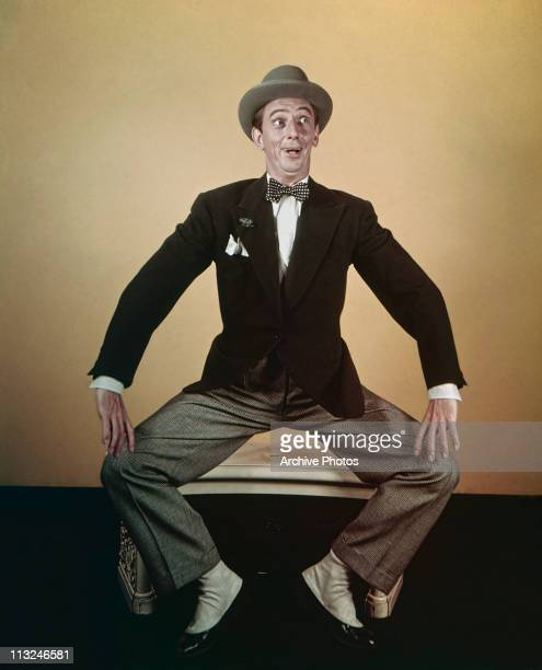 Portrait of American actor Ray Bolger in the 1950's