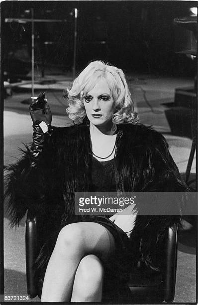 Portrait of American actress Candy Darling December 7 1970