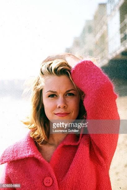 Portrait of American actress Elizabeth Montgomery 1964