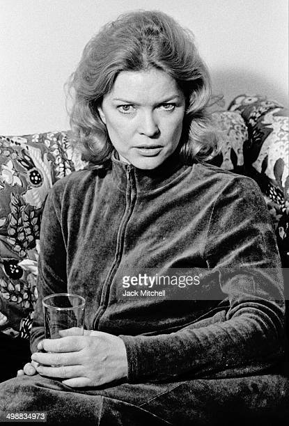 Portrait of American actress Ellen Burstyn New York 1975 She had recently received the Academy Award for Best Actress for her starring role in the...