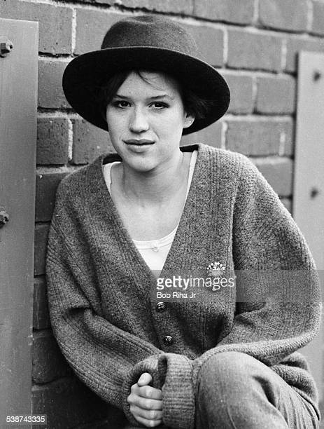 Portrait of American actress Molly Ringwald Los Angeles California January 30 1985