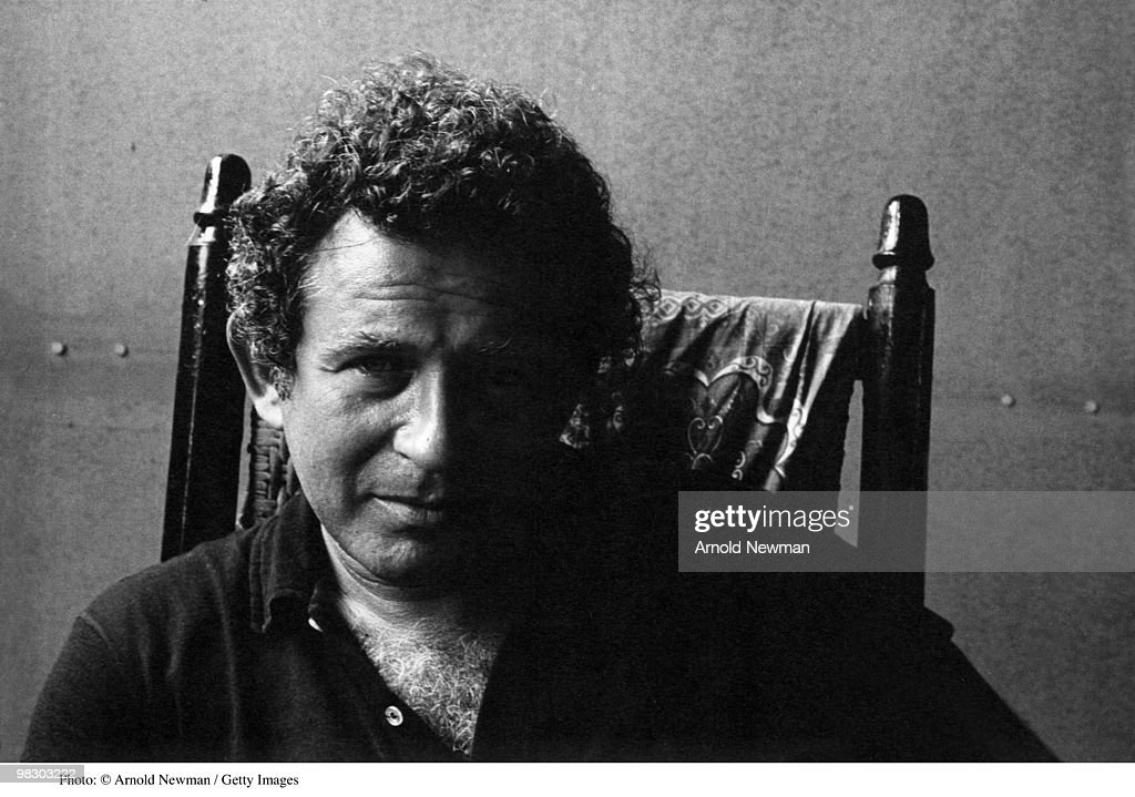 Portrait of American author and journalist Norman Mailer (1923 - 2007), Provincetown, Massachusetts, August 22, 1964.