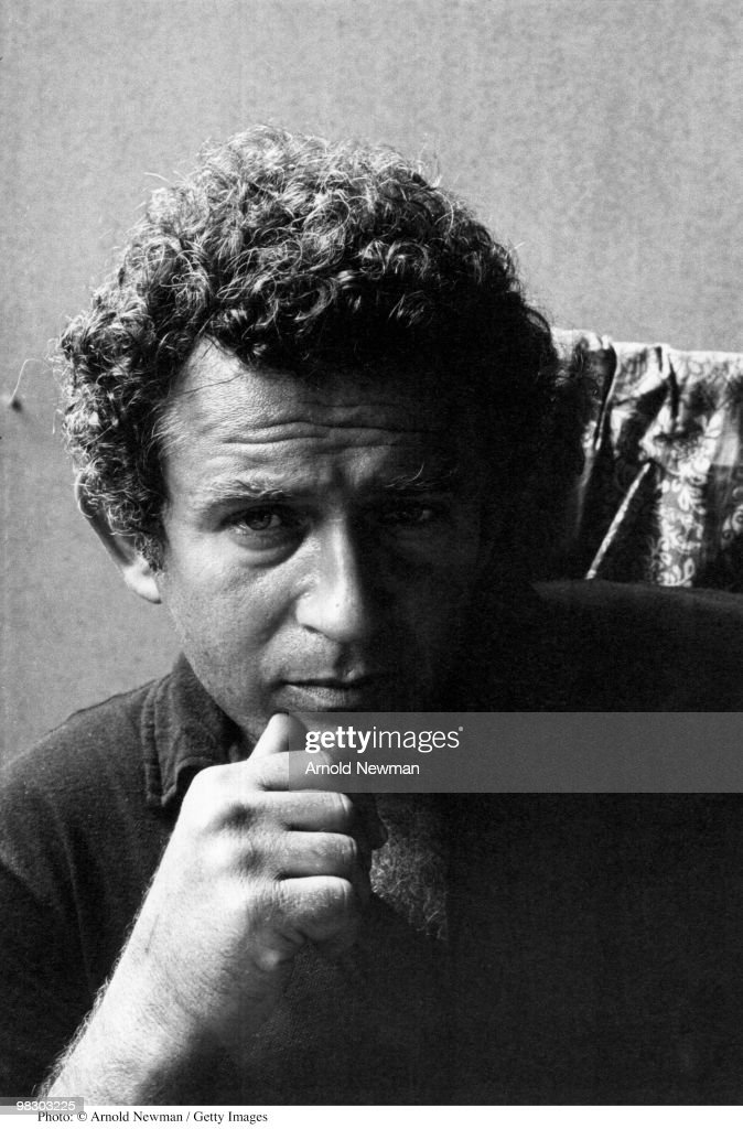 Portrait of American author and journalist <a gi-track='captionPersonalityLinkClicked' href=/galleries/search?phrase=Norman+Mailer&family=editorial&specificpeople=206831 ng-click='$event.stopPropagation()'>Norman Mailer</a> (1923 - 2007), Provincetown, Massachusetts, August 22, 1964.