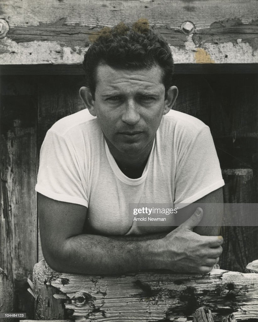 Portrait of American author and journalist <a gi-track='captionPersonalityLinkClicked' href=/galleries/search?phrase=Norman+Mailer&family=editorial&specificpeople=206831 ng-click='$event.stopPropagation()'>Norman Mailer</a> (1923 - 2007), September 1, 1952.
