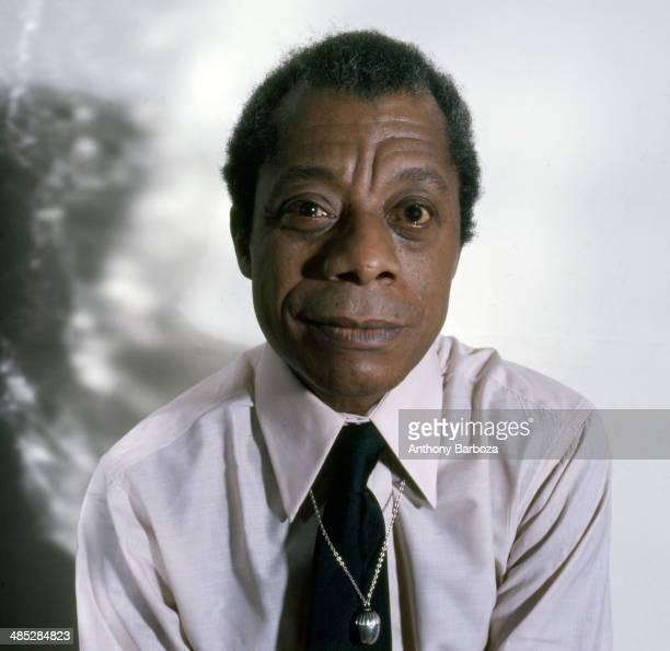 Portrait of American author James Baldwin New York New York 1975