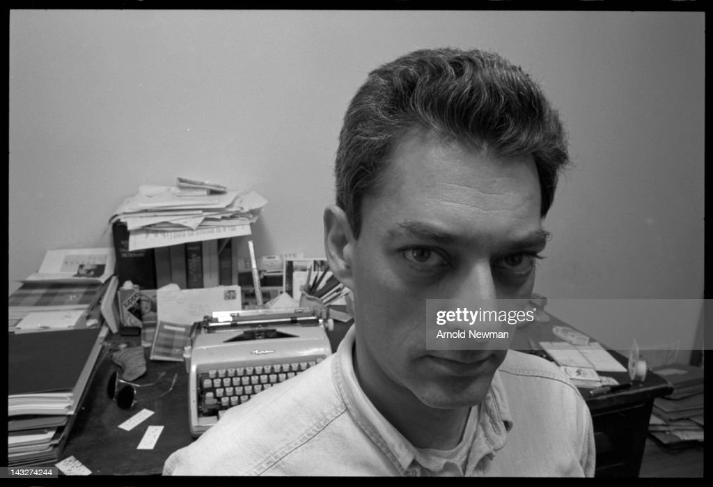 Portrait of American author Paul Auster, Brooklyn, New York, June 7, 1993.