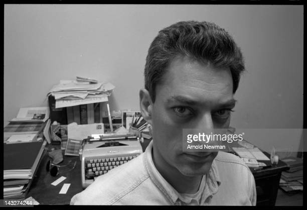 Portrait of American author Paul Auster Brooklyn New York June 7 1993