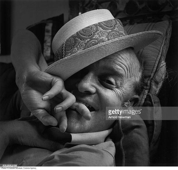 Portrait of American author Truman Capote June 28 1977 in New York City Capote is best known for such novels as 'In Cold Blood' and 'Breakfast at...