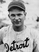 Portrait of American baseball player Harry Davis of the Detroit Tigers 1933