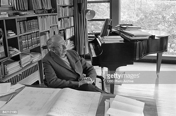a biography of aaron copland an american composer and conductor The distinguished composer aaron copland was born on and that same year he entered the american he appeared as guest conductor.