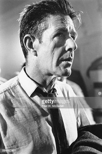 Portrait of American composer John Cage December 2 1965