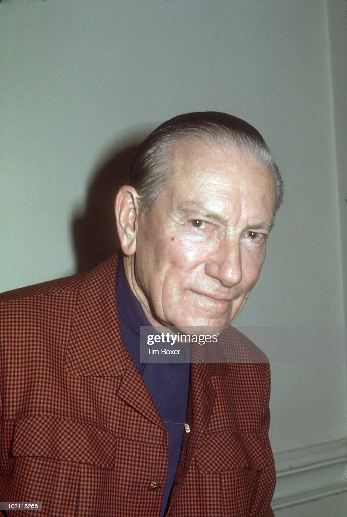 Portrait of American composer, singer, and musician Hoagy Carmichael (1899 - 1981) as he poses at the St. Regis Hotel, New York, New York, January 20, 1977.