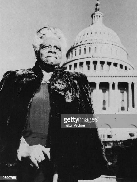 Portrait Of Mary McLeod Bethune : News Photo