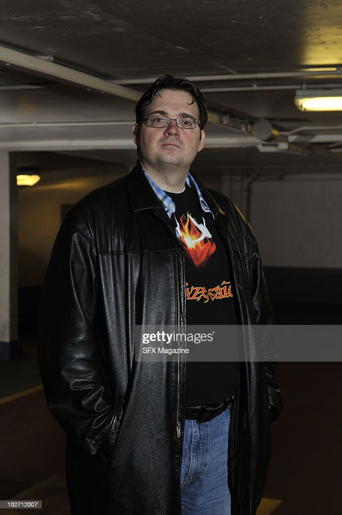 Portrait of American fantasy author Brandon Sanderson taken on June 3, 2011.