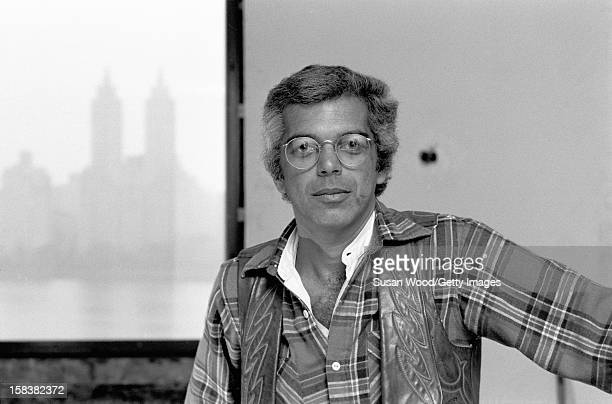 Portrait of American fashion designer Ralph Lauren in his 5th Avenue apartment during renovations New York New York November 1977