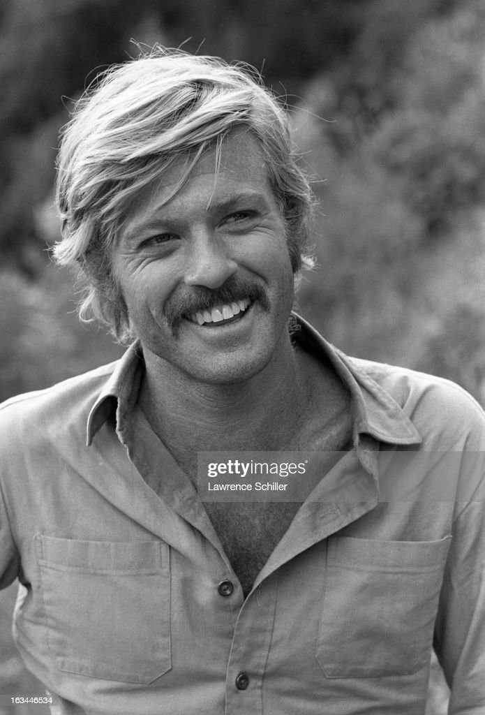 Portrait of American film actor Robert Redford during the filming of 'Butch Cassidy and the Sundance Kid' Durango Mexico 1968
