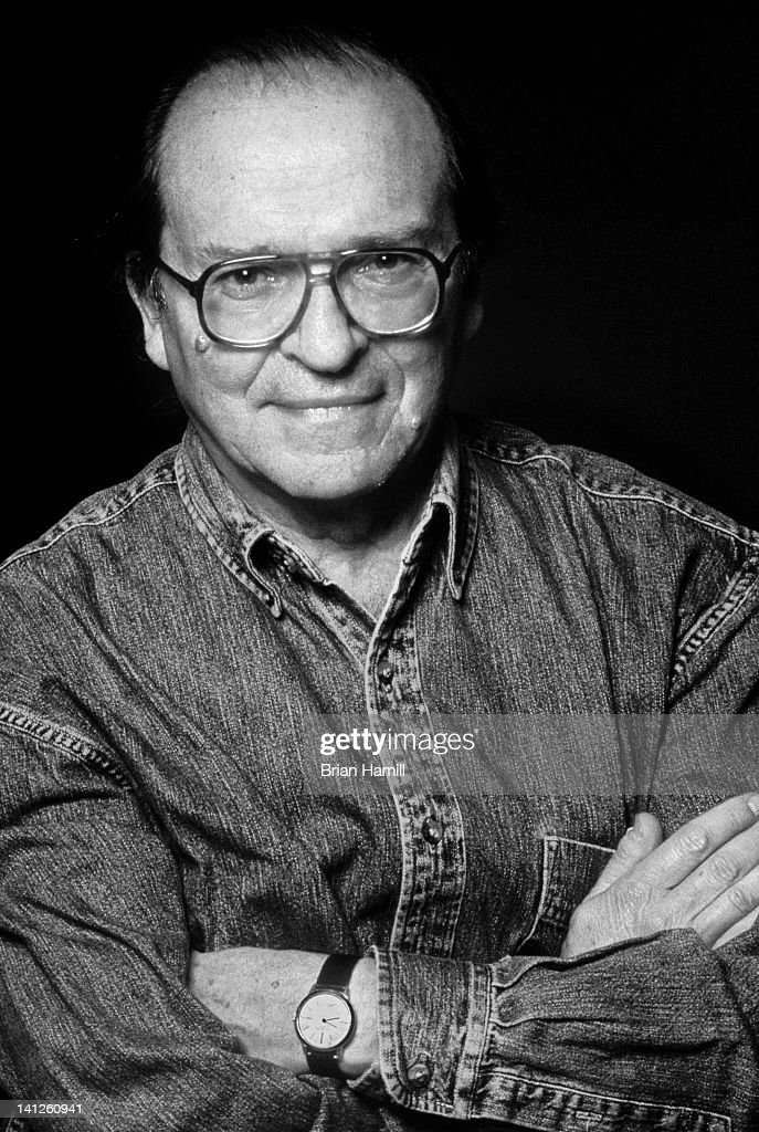 Portrait of American film director <a gi-track='captionPersonalityLinkClicked' href=/galleries/search?phrase=Sidney+Lumet&family=editorial&specificpeople=214143 ng-click='$event.stopPropagation()'>Sidney Lumet</a> (1924 - 2011) as he poses with his arms crossed in front of his chest on the set of his film, 'Gloria,' New York, New York, 1999.