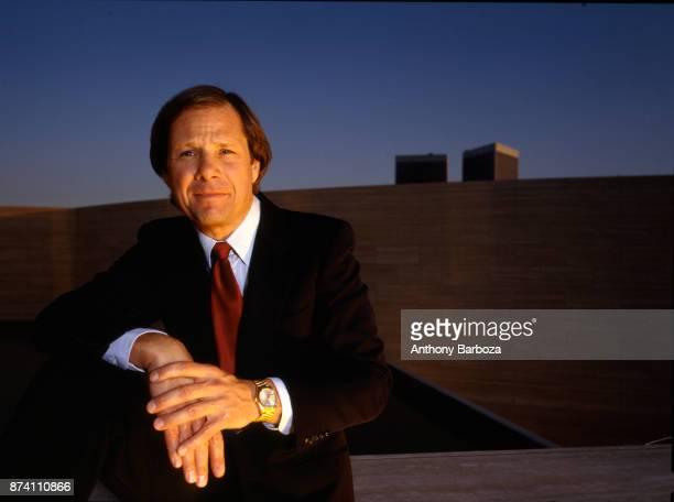 Portrait of American film executive Michael Ovitz cofounder the Creative Artists Agency Los Angeles California 1987