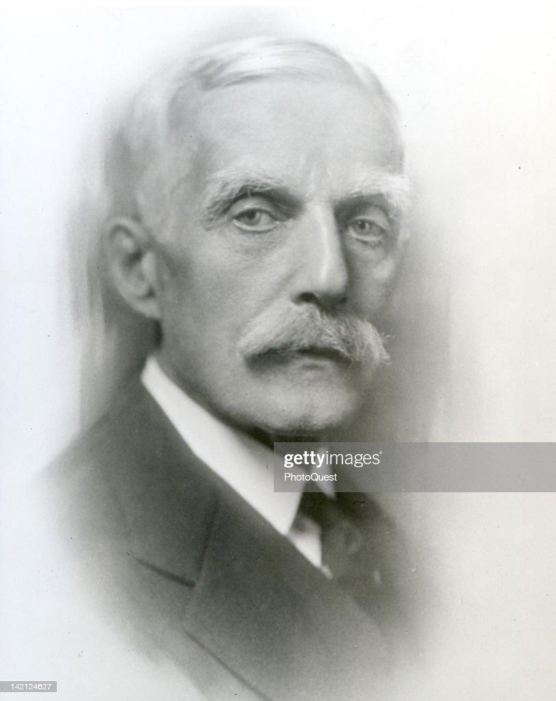 Portrait of American financier Andrew William Mellon (1855 - 1937), early twentieth century.