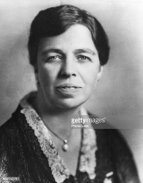 Portrait of American First Lady Eleanor Roosevelt mid to late 1920s