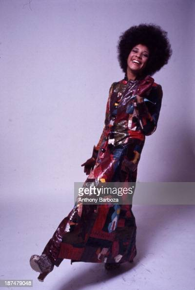 Portrait of American singer Betty Davis New York New York 1969
