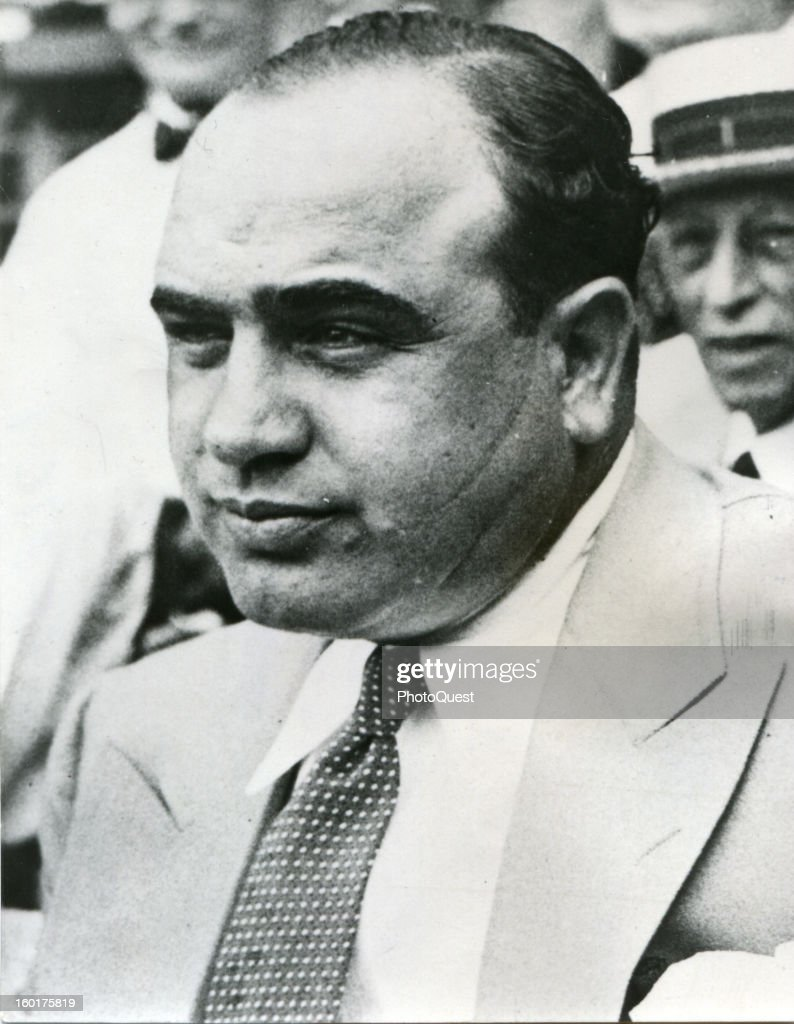 Portrait of American gangster <a gi-track='captionPersonalityLinkClicked' href=/galleries/search?phrase=Al+Capone&family=editorial&specificpeople=93051 ng-click='$event.stopPropagation()'>Al Capone</a> (1899 - 1947), early to mid twentieth century.