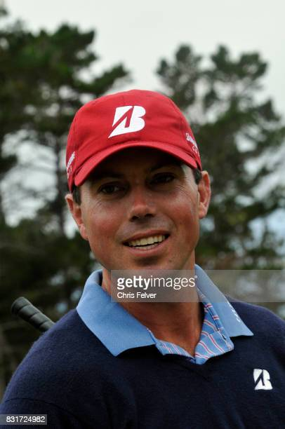 Portrait of American golfer Matt Kuchar during the 110th US Open golf championship Pebble Beach California June 20 2010