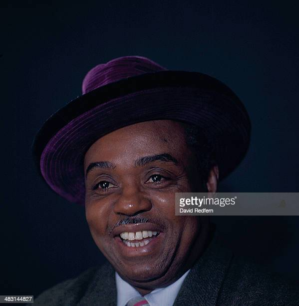 Portrait of American jazz musician Sammy Price circa 1960