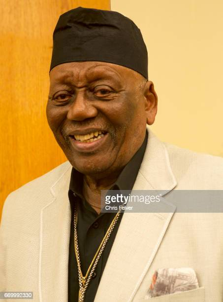 Portrait of American Jazz musician Randy Weston New York New York February 24 2017