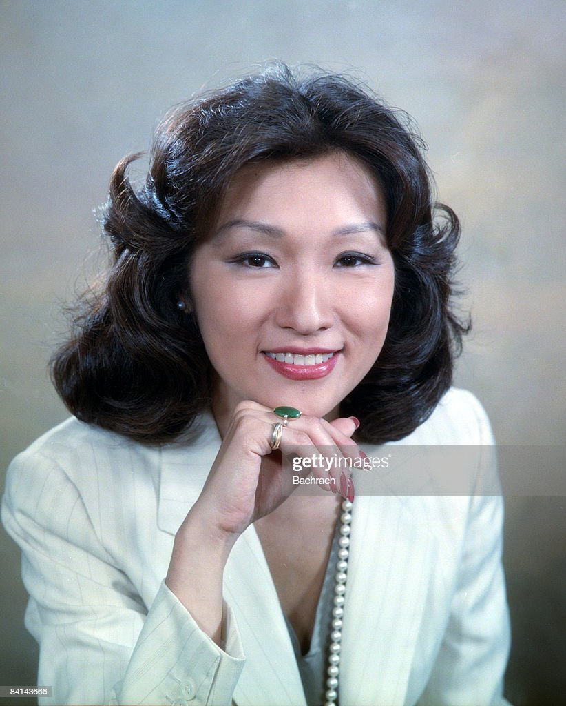 Portrait of American journalist and news correspondent Connie Chung (b.1946) smiling, New York, 1984.