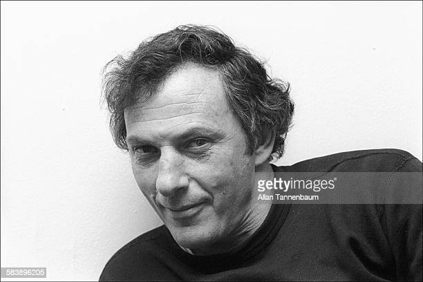 Portrait of American journalist Clifford Irving in his apartment New York New York February 2 1974 Along with author Richard Suskind he collaborated...